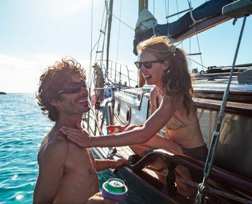 Once upon a boat velero ibiza formentera