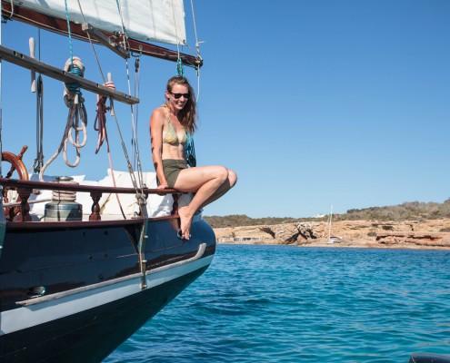 once upon a boat Formentera Ibiza sailing